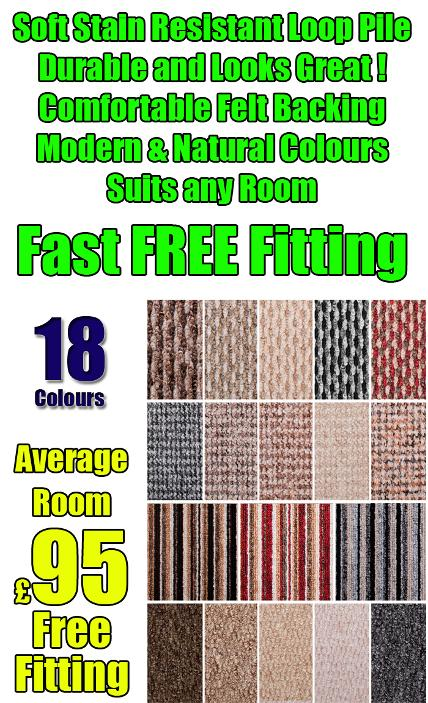 Cheap striped carpets stoke on trent
