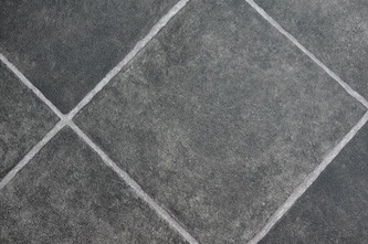 Black Slate Tile Vinyl Flooring