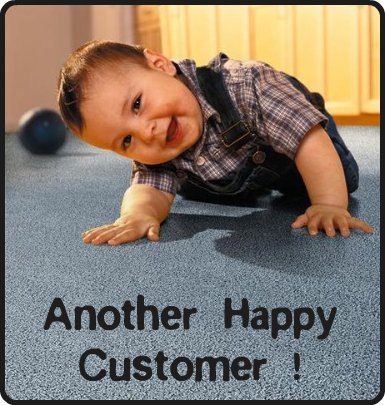 Customer reviews for quickfit carpet stoke