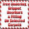 Carpet Sale Free underlay