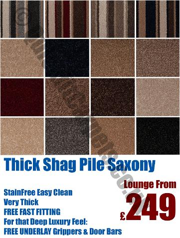 Thick carpets