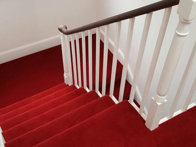 red stairs carpet, plain red stairs carpet for stairs